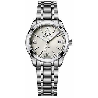 Roterende Womens Les Originales Legacy Stainless Steel Watch LB90173/06
