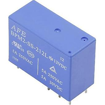 PCB relays 24 Vdc 5 A 2 change-overs AFE 1 pc(s)