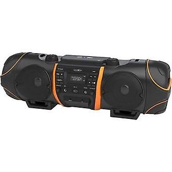 FM Boombox Reflexion CDR1000BT AUX, Bluetooth, CD, FM, USB incl.