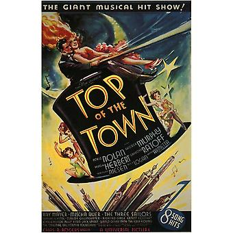 Top of the Town Movie Poster Print (27 x 40)