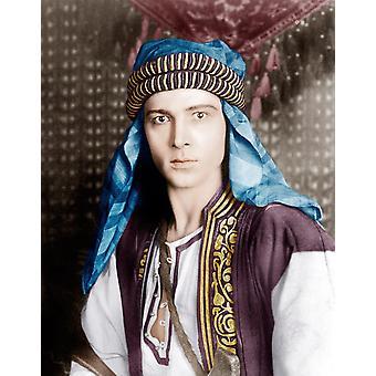 Der Scheich Rudolph Valentino 1921 Fotodruck
