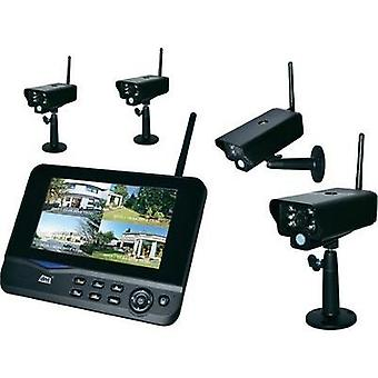 Wireless CCTV system 4-channel incl. 4 cameras dnt 52201 Quattsecure