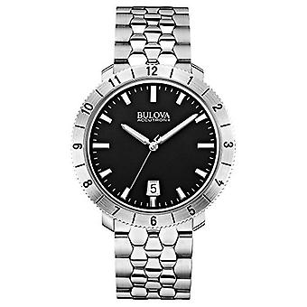 Bulova Unisex Accutron II - 96B207 Stainless Steel Watch (Silver)