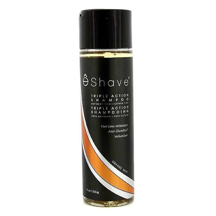 EShave Triple Action Shampoo - Orange Mint 226g/8oz