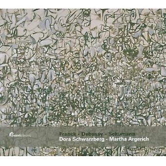 Franck/Schumann - værker for Violin & klaver af Franck, Debussy & Schumann [SACD] USA import