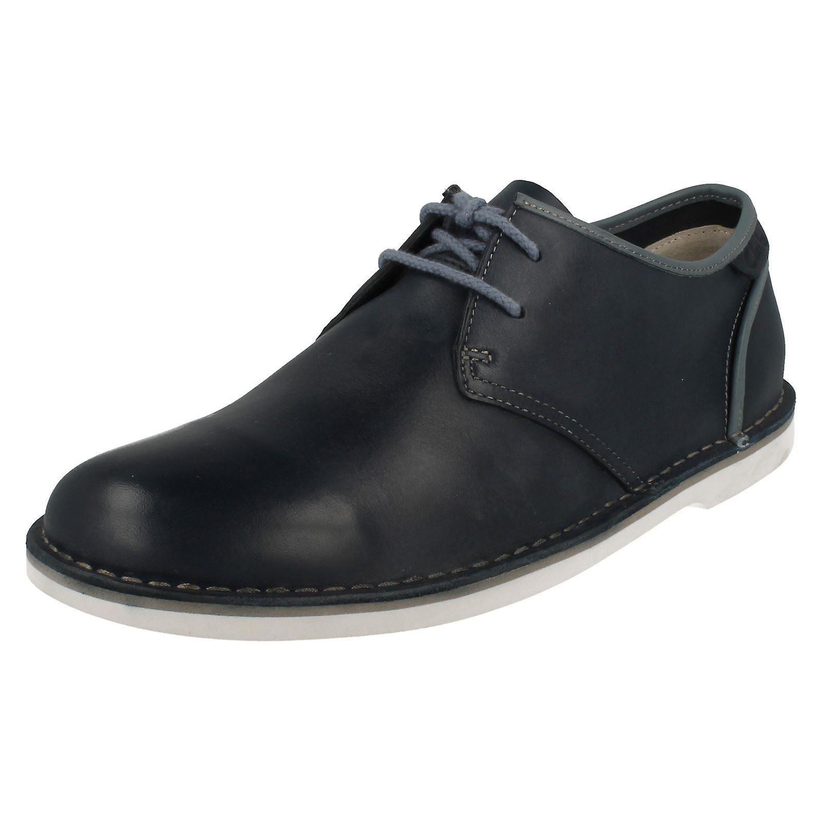Herren Clarks Casual Schnürschuh Schuhe Marden Grove
