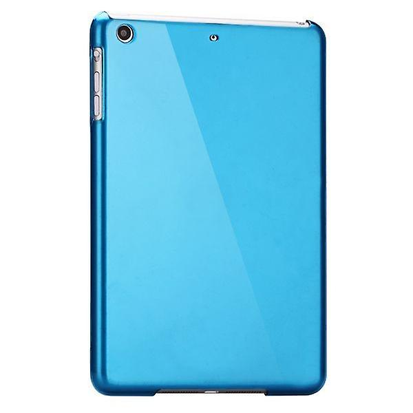 Hardcase glossy Blau for Apple iPad air + foil