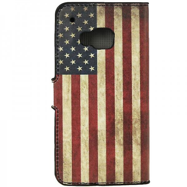 Cover wallet pattern 10 for HTC one 3 M9 2015