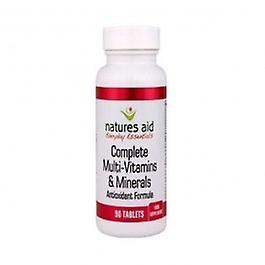 Natures Aid - Vitamin B Complex 90 tablet
