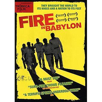 Fire in Babylon [DVD] USA import