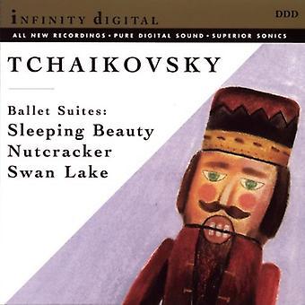 P.i. Tschaikowsky - Tschaikowsky: Dornröschen; Nussknacker; Swan Lake [CD] USA import