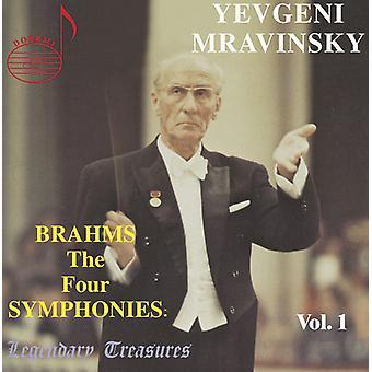 J. Brahms - Brahms: The fire symfonier [CD] USA import