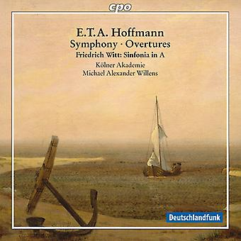 Hoffmann / Witt / Willens / Colonia Academy - Sym Ovtrs [CD] USA import