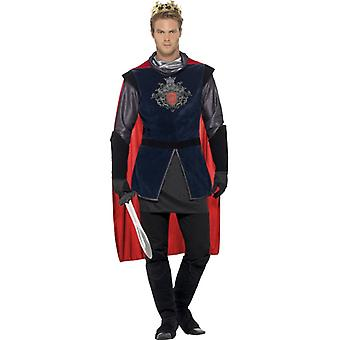 King Arthur King King mens del costume set 5 pezzi