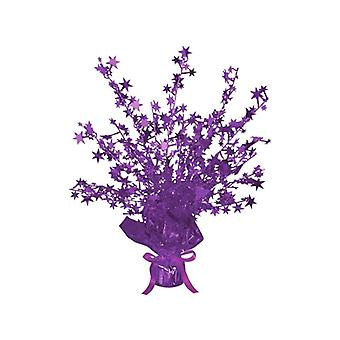 Star Gleam 'N' Burst Centrepiece Purple (Quantity 1)