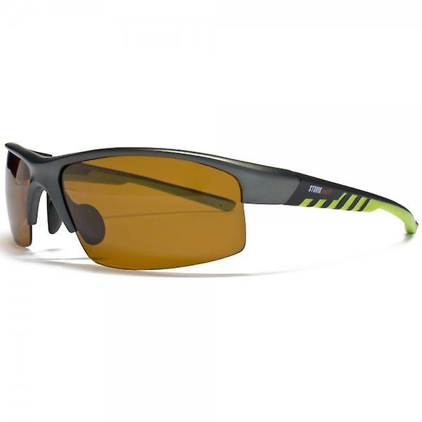 STORM Tech Pro Meteor Polarised Sunglasses Matte Grey