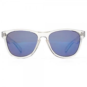 M:UK Shoreditch Keyhole Bridge Sunglasses In Crystal Clear