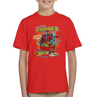 Psycho Crushers Shadaloos Cereal M Bison Street Fighter Kid's T-Shirt