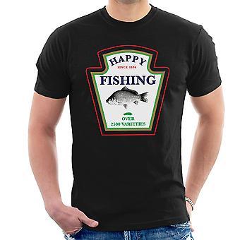 Happy Fishing Over 2500 Varieties Men's T-Shirt