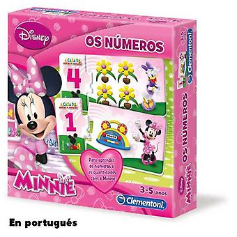 Clementoni The Number Minnie Portugues (Toys , Boardgames , Puzzles)