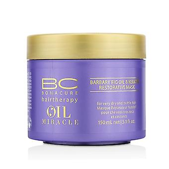 Schwarzkopf BC Oil Miracle Barbary Fig Oil & Keratin Restorative Mask (For Very Dry and Brittle Hair) 150ml/5.1oz