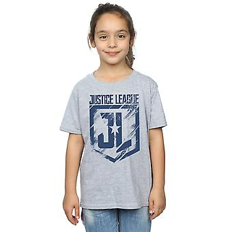 DC Comics flickor Justice League film Indigo Logo T-Shirt