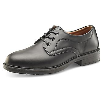 Click Managers Work Safety Shoe Black S1 Src - Sw2010