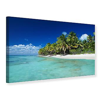 Canvas Print The Dream Island