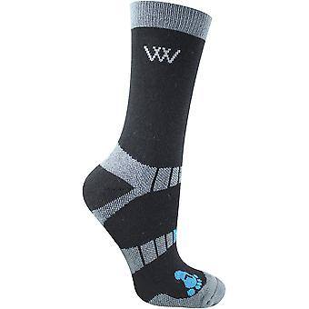 Woof Wear Bamboo Short Waffle Riding Socks
