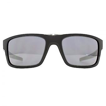 Oakley Drop Point Sunglasses In Polished Black Black Iridium
