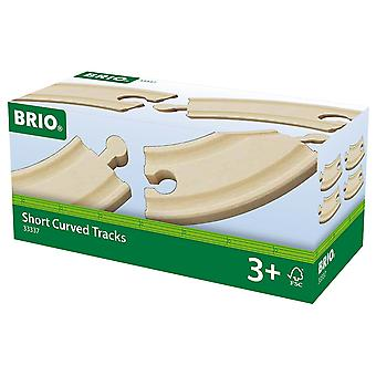 Brio World Railway Track - Short Curved