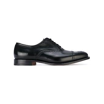 Church's men's EEB0279XVAAB black leather lace-up shoes