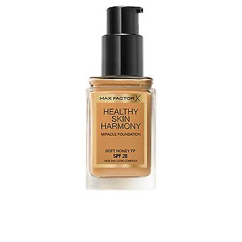 Max Factor Healthy Skin Harmony Foundation Soft Honey Womens New Make Up