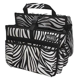 Wahl Tool Carry Bag Black White Zebra