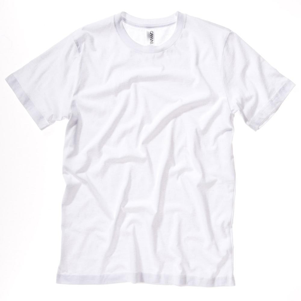 Bella Canvas Unisex Mens and Ladies Jersey Crew Neck Short Sleeve T-Shirt