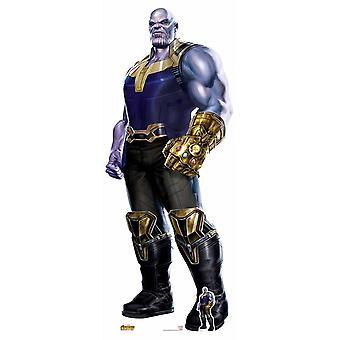 Thanos Wearing Infinity Gauntlet Avengers Infinity War Cardboard Cutout