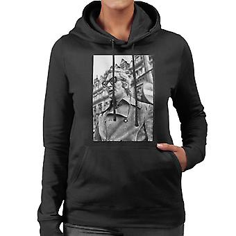 Michael Caine 1971 Get Carter Classic Shot Newcastle Upon Tyne Women's Hooded Sweatshirt