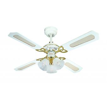 Westinghouse ceiling fan Princess Trio white 105 cm / 42