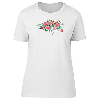 Pink Flowers, Spring Nature Tee Women's -Image by Shutterstock