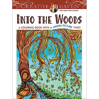 Dover Publications-Creative Haven: Into The Woods