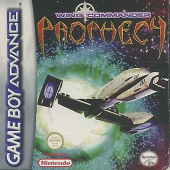Wing Commander Prophecy GBA Game (Game Boy Advance)