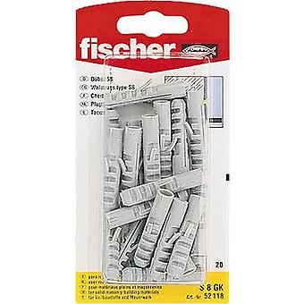 Spring toggle Fischer S 8 GK 40 mm 8 mm 52118 20 pc(s)
