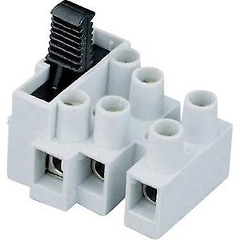 Adels-Contact 503 SI/3 DS Screw terminal flexible: 0.5-2.5 mm² rigid: 0.5-2.5 mm² Number of pins: 3 1 pc(s) Ecru