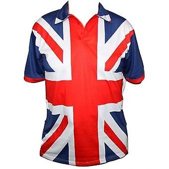 Union Jack bär Union Jack Designer Polo Shirt