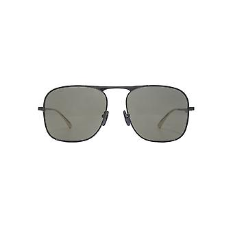 Gucci Urban Metal Square Sunglasses In Black