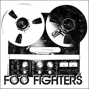 Foo Fighters Reel To Reel Vinyl Sticker 100Mm X 100Mm