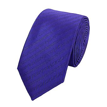 Tie tie tie tie 6cm-purple striped Fabio Farini