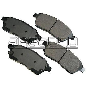 ProACT ACT1422 Akebono ProACT Ultra Premium Ceramic Disc Brake Pad Kit