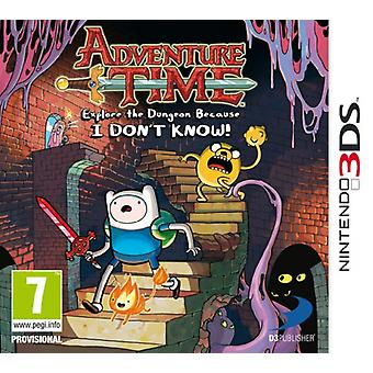 Adventure Time Explore the Dungeon Because I dont know (Nintendo 3DS)