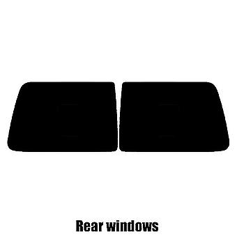 Pre cut window tint - Mini Clubvan Van - 2008 to 2014 - Rear windows